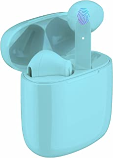 $22 » Wireless Earbuds Earphones Bluetooth 5.0 IPX5 Waterproof 40H Playtime USB-C Charging Built-in Mic in-Ear Headphones Touch ...