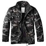 Trooper Feldjacke M65, blackcamo, L