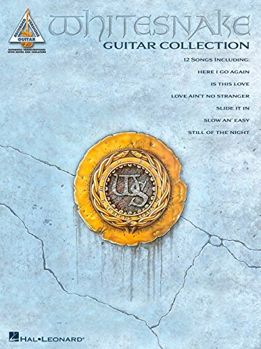 Whitesnake Guitar Collection: Guitar Recorded Versions. For Chitarra, Tablatura di Chitarra