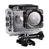 Action Camera Cam per sport all'aria aperta impermeabile con custodia...