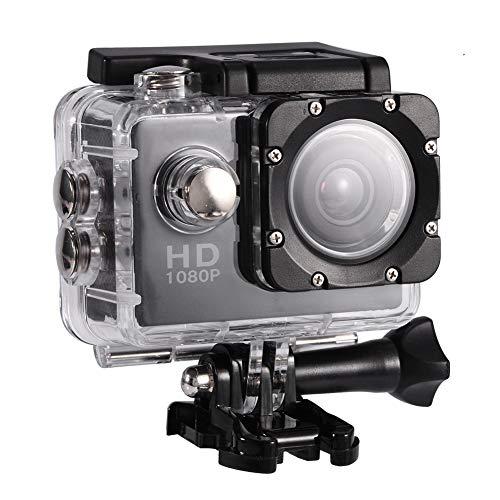 Action Camera Cam per sport all'aria aperta impermeabile con custodia impermeabile,...