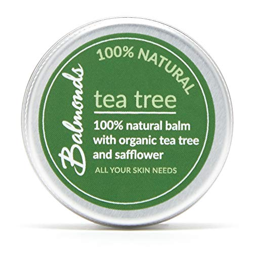 Balmonds Tea Tree Balm 15ml for Cold Sores Fungal Conditions Acne Spots and...