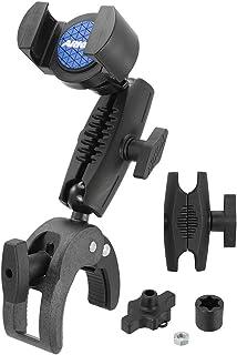 ARKON RoadVise Robust Clamp Phone Mount with Security Knob Retail Black (RVRMCPM)