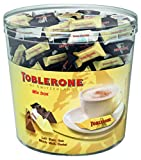 Toblerone miniaturas Mix. Caja de 900g. Surtido de chocolate Toblerone