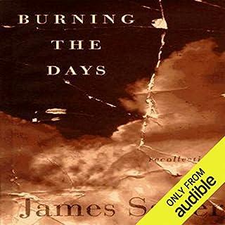 Burning the Days cover art