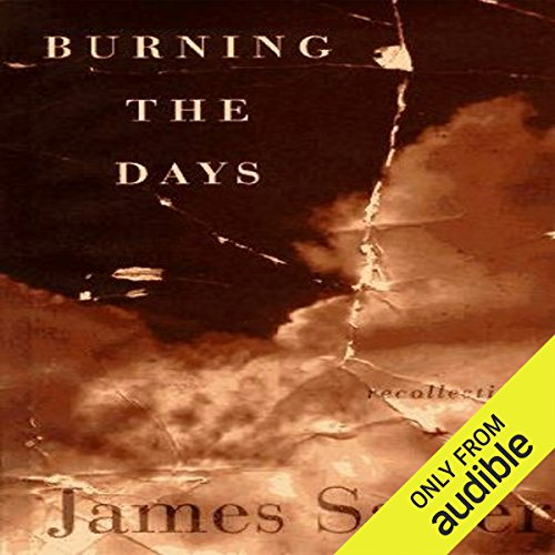 Burning the Days audiobook cover art