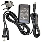HQRP Replacement AC Adapter/Charger Compatible with Sony HandyCam CCD-TRV608, CCD-TRV66, CCD-TRV67, CCD-TRV68 Camcorder with US Cord & EUR Plug Adapter