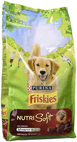 Friskies Nutrisoft Manzo Y Cereales, paquete de 6 x 1.5 kg