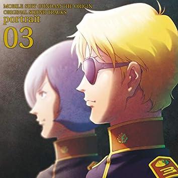 MOBILE SUIT GUNDAM THE ORIGIN Original Motion Picture Soundtrack 「portrait 03」