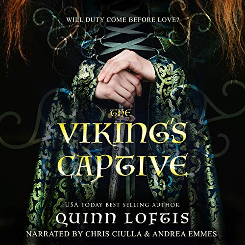 The Viking's Captive audiobook cover art