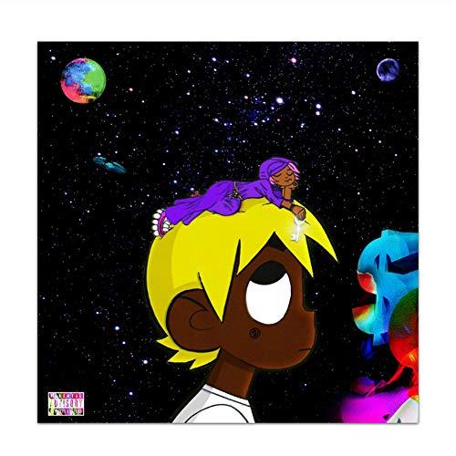 Suuyar Lil Uzi Vert Eternal Atake Luv Vs. The World 2 Rap Album Painting Art Poster Print Canvas Home Decor Picture Wall Print -20X20 Inch No Frame