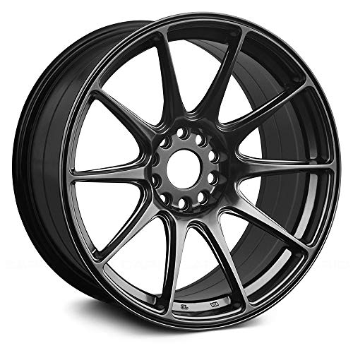 XXR Wheels 527 Chromium Black Wheel with Painted Finish (18 x 8. inches /5 x 100 mm, 42 mm Offset)