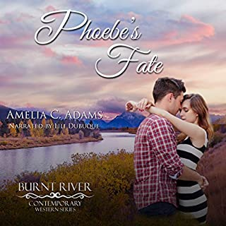 Phoebe's Fate     Burnt River Contemporary Western Romance, Book 9              By:                                                                                                                                 Amelia C. Adams                               Narrated by:                                                                                                                                 Lili Dubuque                      Length: 2 hrs and 54 mins     5 ratings     Overall 4.6