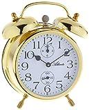 Atlanta - Campanaro Campana Sveglia Analogo Antico Metallo Oro - 1058-9