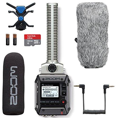 Zoom F1-SP Field Recorder & Shotgun Microphone Bundle