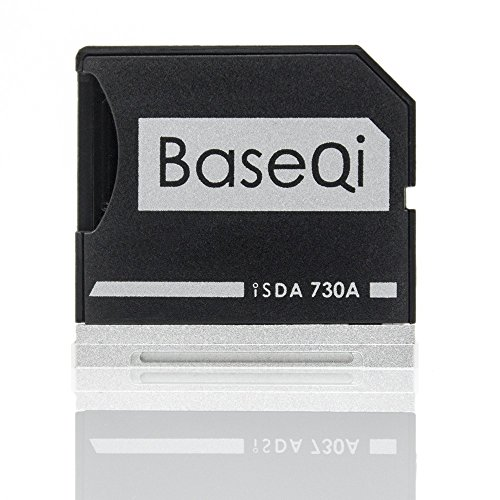 BaseQi Aluminum microSD Adapter for Dell XPS 13