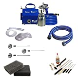 Fuji 2202 Semi-PRO 2 Bottom Feed HVLP Paint Sprayer System and Accessories
