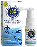 Ear Pro All Natural Swimmer Ear Spray for Kids and Adults - Safe and Easy to Use Ear Protection Spray Helps Prevent Trapped Water, Water Related Ear Problems, and Protect Hearing. 1 Pack - 200 Uses
