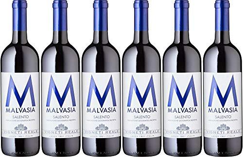6x Malvasia Nera 2017 - Weingut Vigneti Reale, Puglia - Rotwein