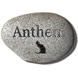 Accent Direct Pet Memorial Stone - Custom Engraved Real Stone - Ships Free - Dog, Cat, Small Animal - Grave Marker/Headstone, Garden Marker, – Loss of Pet Gift - Pet Remembrance Gift - Personalized