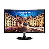 Samsung C27F398FWR 68,58 cm (27 inch) curved monitor (HDMI, display port, 4ms, 1920 x 1080 pixels) ...