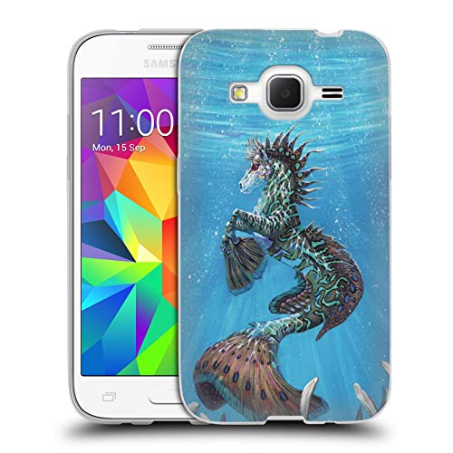 Head Case Designs Officially Licensed Stanley Morrison Seahorse Fish in The Ocean Creatures Soft Gel Case Compatible with Samsung Galaxy Core Prime