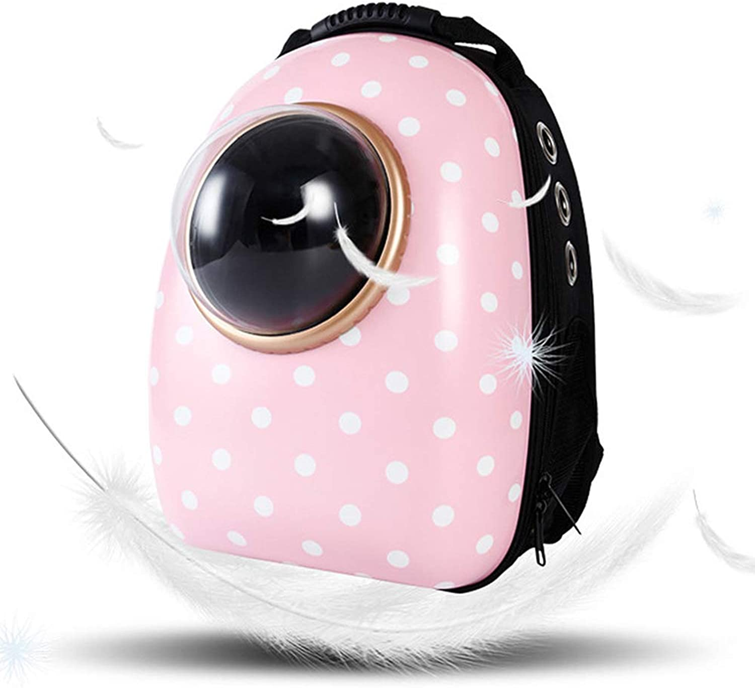 Portable Pet Cat Backpack Space Capsule Bubble Puppy Kitten Waterproof Safe Transparent Breathable Travel Backpack
