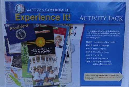 Pearson - Magruder's American Government 2010 - Experience It! Activity Pack (7 units)