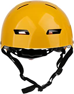 Dolity Water Sports Safety Helmet & Adjustable Chin Strap for Kayak Canoe Boat Rafting Wakeboard Skateboard Cycling - Choice of Color