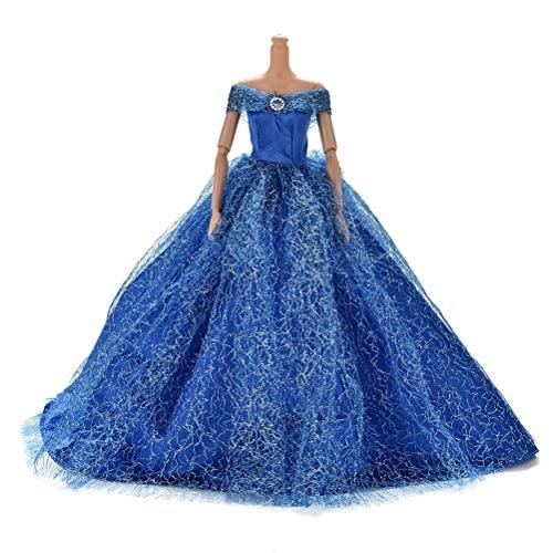 Lsmaa Mode Handgemaakte Feestavond Bruidsjurken Jurk Kleding voor Barbie Poppen Meisjes Verjaardagscadeau