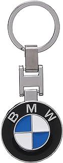 ميدالية مفاتيح مطلية نيكل بشعار بي ام دابليو على الوجهين