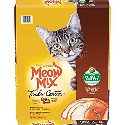 Meow Mix Tender Centers, 13.5-Pound, Salmon & Turkey with Vitality Bursts
