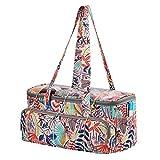 QZLKNIT Yarn Storage Bag Organizer with Clear Top,...