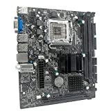Zhou-YuXiang G41 M-ATX DDR3 con Placa Base Graphy de Doble Canal 8G USB 2.0 SATA integrada para Placa Base de computadora LGA775 / 771 CPU