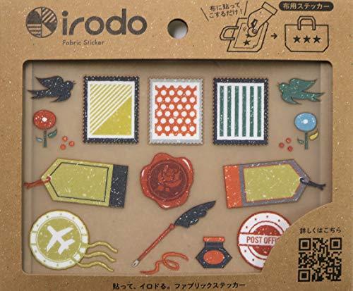オテガミ irodo(イロド)【アイロン不要】【布用転写シール】【革・化繊OK】【ハンドメイド】