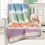 Herrschners Lollipops Baby Blanket Crochet Yarn Kit