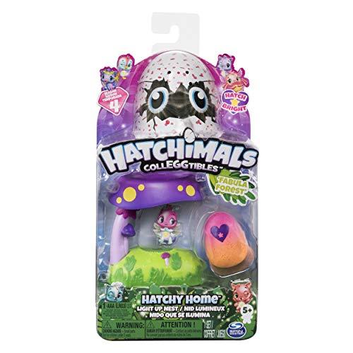 Hatchimals CASA NIDO CON LUZ Y BOSQUE FABULA INCLUYE FIGURA MOD. SDOS, multicolor (Spin Master Toys 6044122) , color/modelo surtido