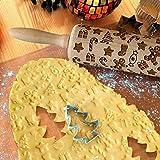Zoom IMG-1 svebake mattarello decorativo per biscotti