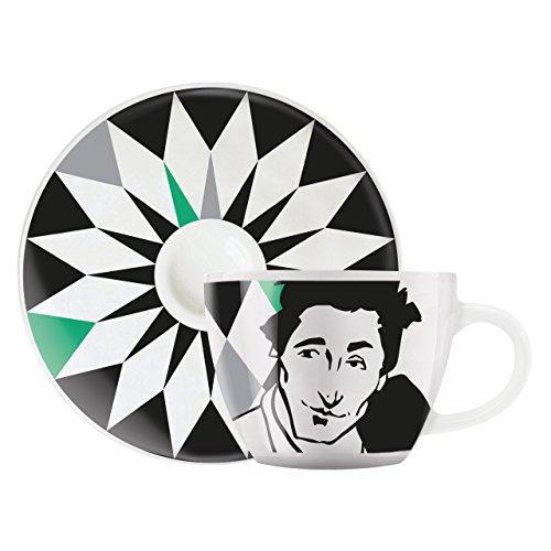 Ritzenhoff My Little Darling Espressotasse, Porzellan, Mehrfarbig, 6.4 x 6.4 x 5 cm