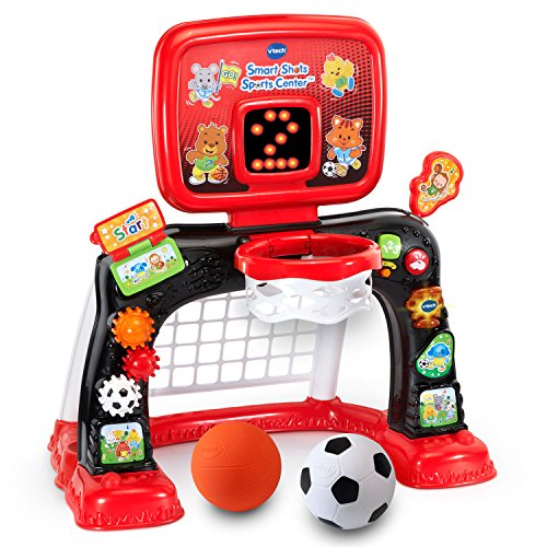 Image of the VTech Smart Shots Sports Center Amazon Exclusive (Frustration Free Packaging), Red