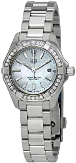 Tag Heuer Aquaracer Diamond White Mother of Pearl Dial Ladies Watch WBD1413.BA0741