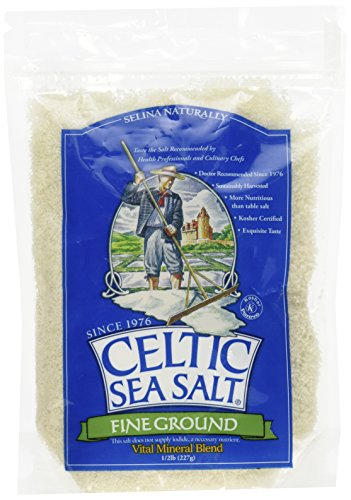 Celtic Sea Salt Fine Grnd Pou, 0.5 pounds
