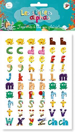 Les stickers Alphas: La méthode de lecture Les Alphas GS-CP