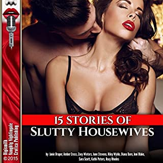 15 Stories of Slutty Housewives cover art