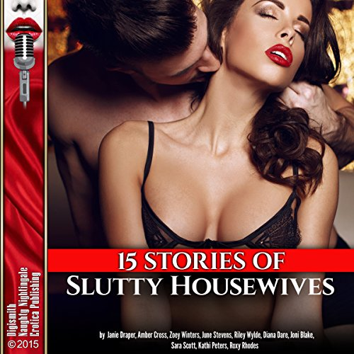 15 Stories of Slutty Housewives audiobook cover art