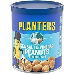 Planters Flavored Peanuts, Sea Salt & Vinegar (6 oz Jars)