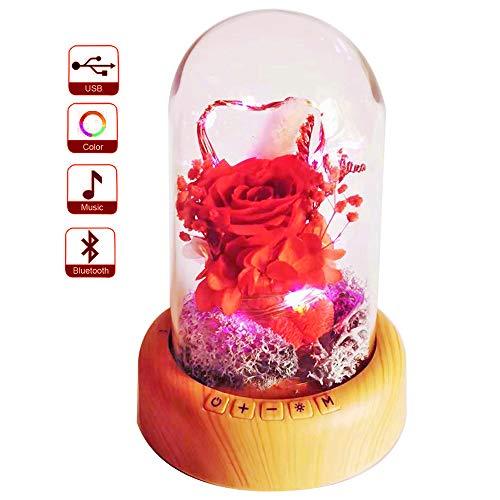pink resin rose - 3