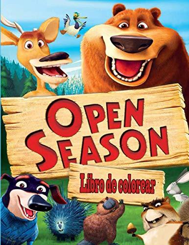 Open Season libro de colorear