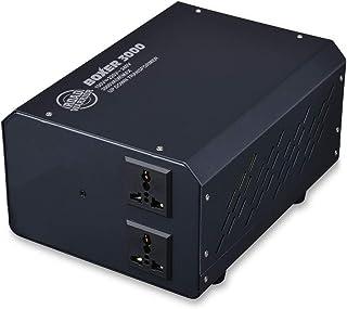 RW116 城下工業海外国内兼用大容量変圧器AC100V⇔220-240V/3000W Max 相互電圧変換 ボクサー3000 大容量アップダウントランス BOXER 3000
