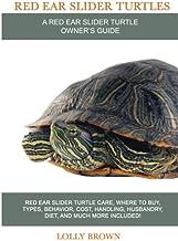 Red Ear Slider Turtles: Red Ear Slider Turtle care, where to buy, types, behavior, cost, handling, husbandry, diet, and mu...
